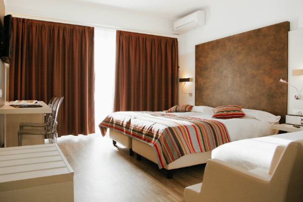 Double room Comfort Hotel Colorado Lugano